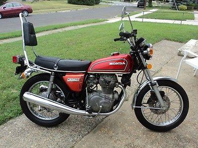 Honda : CB 1976 honda cb 360 t nice shape runs and shifts great