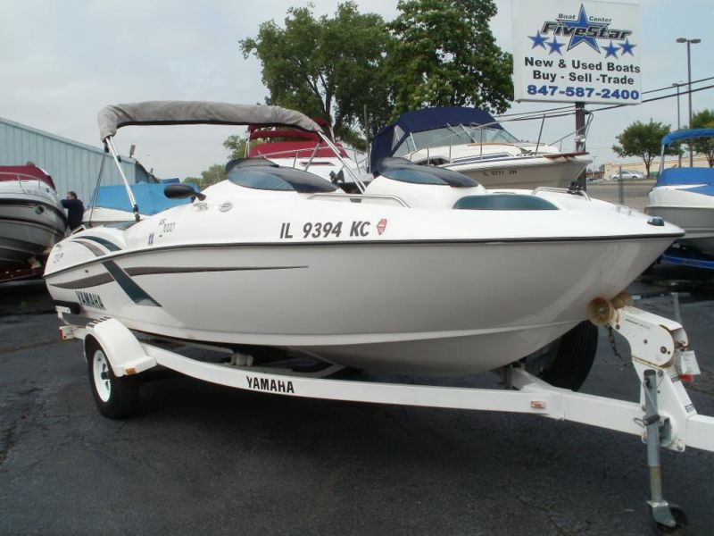 Boats for sale in fox lake wisconsin for Yamaha jet boat reliability