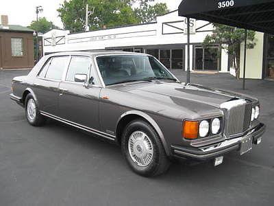 Bentley : Mulsanne . 1987 bentley mulsanne 1 owner 17 k
