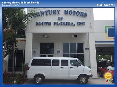 Dodge : Ram Van Non Smoker Wood-Trim Leather White Paint Non-Smoker 11 Seater Leather White Paint CD Player Salt-Free Rust-Free