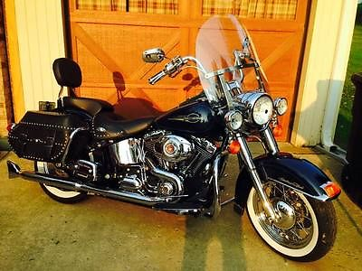 Harley-Davidson : Softail 2008 blue heritage classic 5000 miles many extras