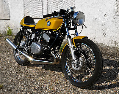 Yamaha : Other Totally handcrafted custom 1974 RD350. Hydraulic clutch, Vanguard SS pipes...