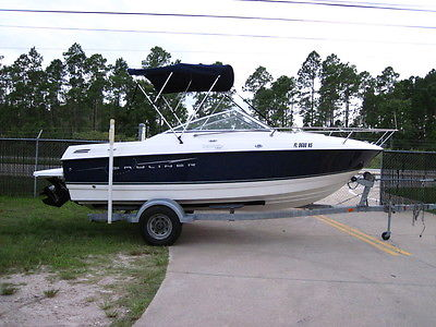 2008 Bayliner 192 Discovery Cuddy Cabin 3.0 Mercruiser I/O w/ Trailer VERY CLEAN