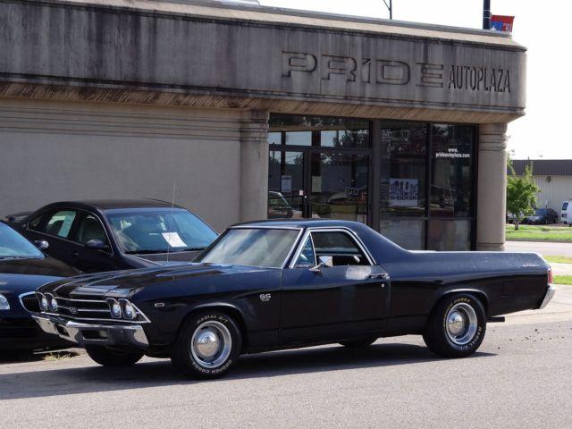Chevrolet : El Camino SS 396 1969 chevrolet ss 396 el camino s matching original 350 hp drivingvideo
