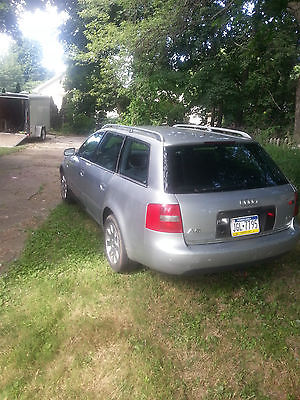 Audi : A6 Avant Wagon 4-Door 2000 audi a 6 avant wagon 4 door 2.8 l awd 6 x 10 pace american trailer food truck