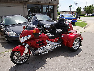 Honda : Gold Wing 2008 honda goldwing trike nice one owner local bike no extrafees video