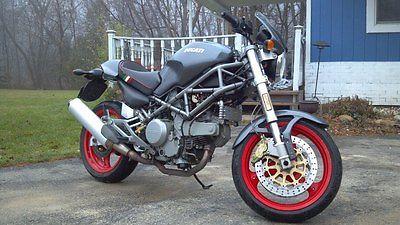 Ducati : Monster 2002 ducati monster 750 senna edition