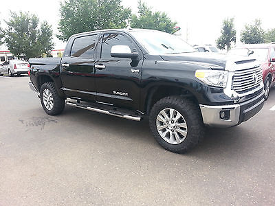 Toyota : Tundra Limited Extended Crew Cab Pickup 4-Door 2014 toyota tundra limited extended crew cab pickup 4 door 5.7 l