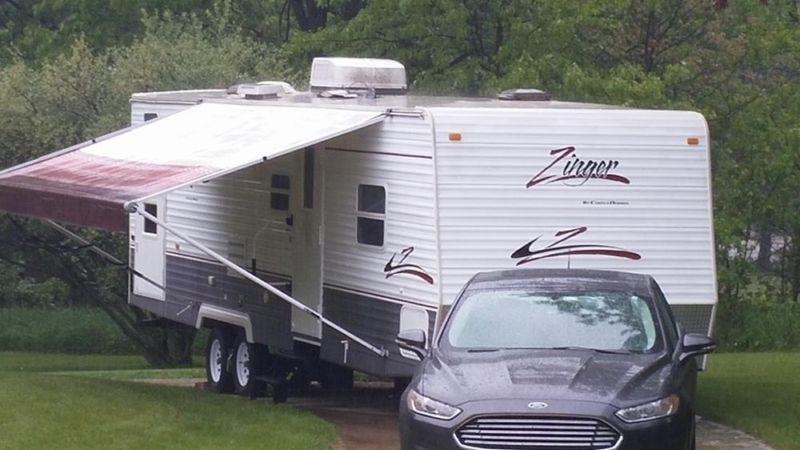 32 FT, Crossroads Zinger Bunkhouse Camper