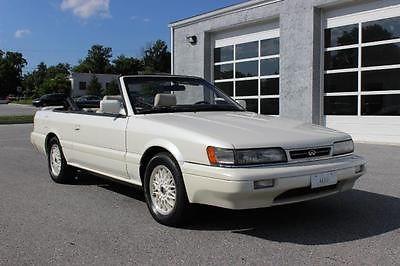 Infiniti : M30 Convertible 1992 infiniti m 30 like e 30 convertible clean serviced