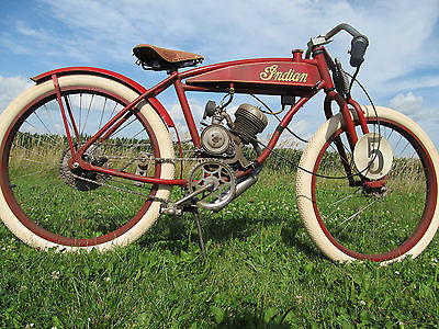 Custom Built Motorcycles : Other Board track racer vintage replica motorcycle flat track Indian Harley motorbike