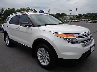 Ford : Explorer XLT 4WD AWD 4x4 Ford Certified Warranty White Certified 2012 Explorer 4x4 XLT 3rd Seat Touch Screen Video 4WD 14K Miles 1Owner
