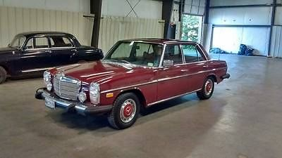 Mercedes-Benz : 300-Series SEDAN RARE 1976 MERCEDES 300D, DIESEL WITH MOON ROOF, CLASSIC LUXURY, 68.69 LOW MILES