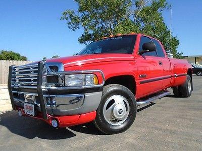Dodge : Ram 3500 Laramie/SLT 99 ram 3500 laramie slt drw low miles 48 k 1 txownr immaculate 5.9 l cummins auto
