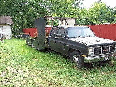 GMC : Other sierra 3500 1987 gmc r 3500 base crew cab pickup 4 door 5.7 l