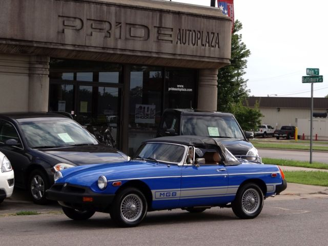 MG : MGB 1977 mgb quality frame off restoration ready to drive and show drivingvideo