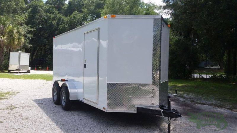 Enclosed Trailer for SALE! 6' by 14' New Enclosed Trailer