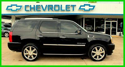 Cadillac : Escalade ESCALADE LUXURY AWD 6.2L V8 ROOF NAVI DUAL DVD 2009 cadillac escalade awd luxury 1 owner 88 k roof dvd ac htd leather navi loade