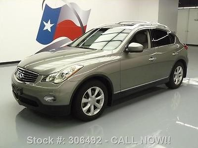 Infiniti : EX HTD LEATHER SUNROOF PARK ASSIST 2008 infiniti ex htd leather sunroof park assist 25 k mi 306492 texas direct