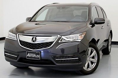 Acura : MDX w/Advance/Entertainment 16 acura mdx technology package navigation rear dvd adaptive cruise