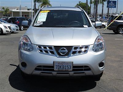 2012 nissan rogue silver cars for sale. Black Bedroom Furniture Sets. Home Design Ideas