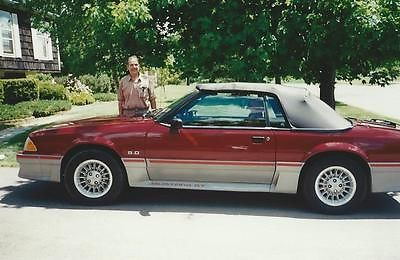 Ford : Mustang GT Ford Mustang Convertable, GT 1988, RED, 5.0 engine, $9500 firm