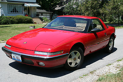 Buick : Reatta tan All Original 1989 Buick Reatta GM - 86K Miles - Very clean and well maintained