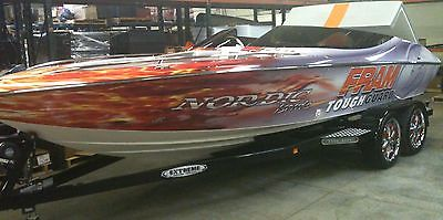 22' NORDIC EVO Open Bow Runabout 2010 NO WOOD BOAT 350Mag w/ CUSTOM 20