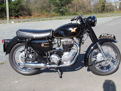 Other Makes : 1965 Matchless 500cc G80CS R Police special Classic motorcycle full Restoration1965 Matchless 500cc G80CS R Police special