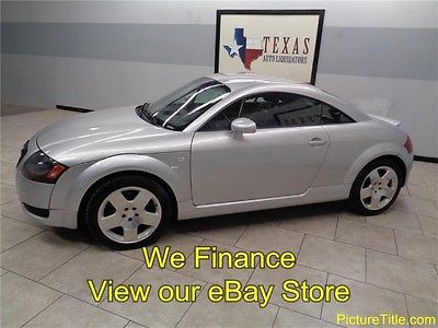 Audi : TT Coupe 6 Speed 04 tt coupe 6 speed leather heated seats 225 hp turbo we finance texas