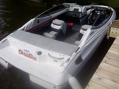 1992  Capri Bayliner (bowrider) with mint trailer new upholstery BEST OFFER