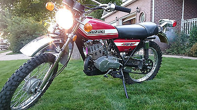 Suzuki Tc125 Motorcycles for sale