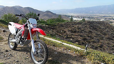 Honda : CRF 2006 crf 450 x ca street legal dual sport enduro updated to 2012 spec with extras