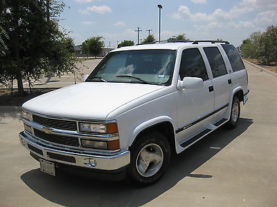 Chevrolet : Tahoe TC Truck Conversions / Full Leather 1997 chevrolet tahoe conversion edition w 36 500 original one owner miles