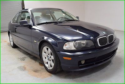 BMW : 3-Series 325Ci 4x2 6 Cyl Coupe Sunroof leather seat 2 Doors FINANCING AVAILABLE!! 140k Miles Used 2002 BMW 325CI 2.5L I6 Coupe, Clean Carfax