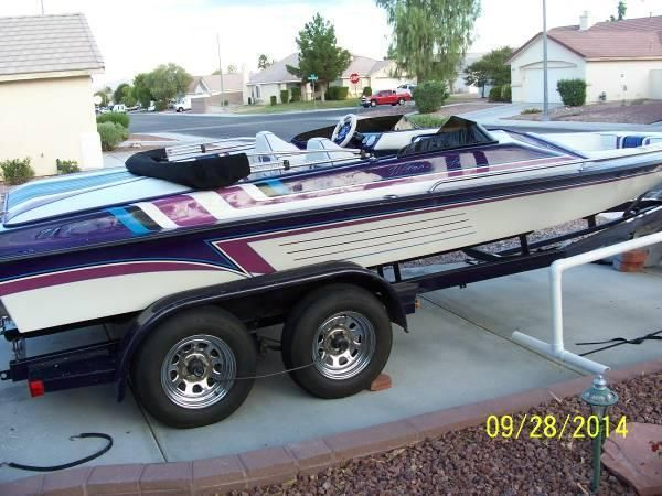 1996 Ultra 21' Open Bow Jet Boat, very Clean!