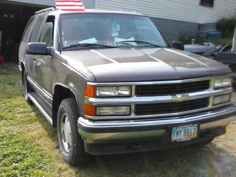 1998 chevy tahoe 4x4 cars for sale. Black Bedroom Furniture Sets. Home Design Ideas