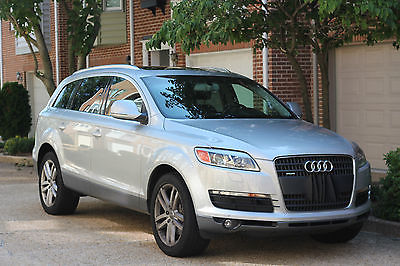 Audi : Q7 Premium Sport Utility 4-Door 2009 audi q 7 with the big engine 4.2 l