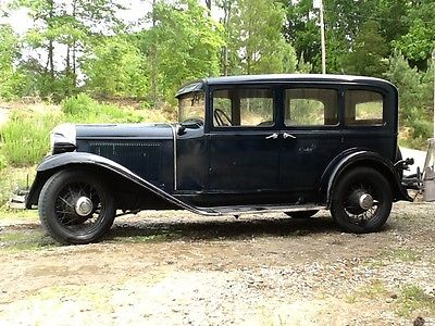 Chrysler : Other Original 1931 chrysler 4 door sedan kept in the family
