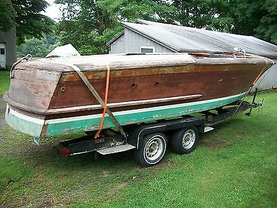 1950 Chris Craft 23' Holiday Project Boat