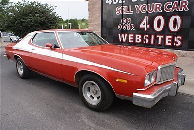 Ford : Torino Coupe 1976 ford gran torino coupe 351 ci cleveland v 8 automatic project car restorable