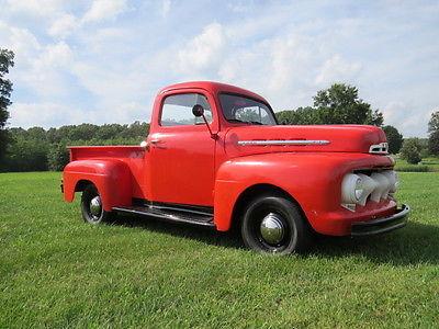 Ford : Other Pickups Base 1951 ford f 1 pickup truck flathead v 8