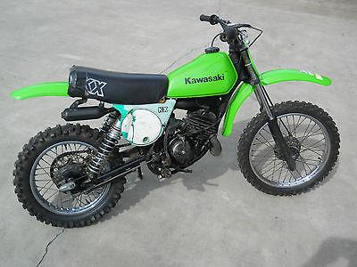 Kawasaki : KX 1979 kawasaki kx 80 a 1 mini vintage motocross 79 kx 80 kx 80 ahrma vmx 1 st year