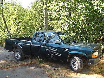 Dodge : Dakota Sport Extended Cab Pickup 2-Door 1993 dodge dakota sport pickup 2 door 2 rwd v 6 222 000 mi manual