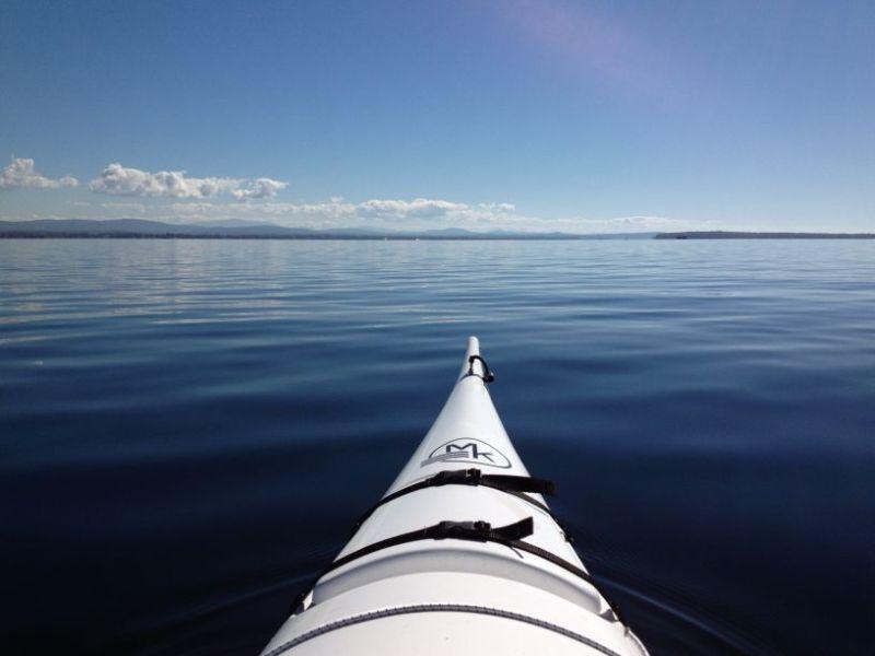 Fiberglass kayak