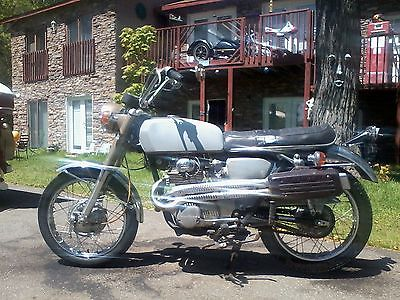 Honda : CL 1969 honda cl 350 scrambler 1 owner 4 445 actual miles have title