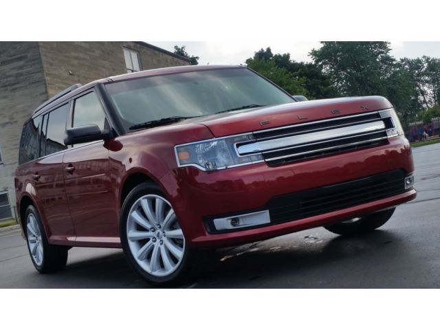 2013 Ford Flex Red Cars For Sale