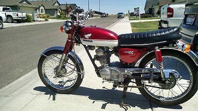 Honda : CB 1971 honda cb 100 with clear idaho title