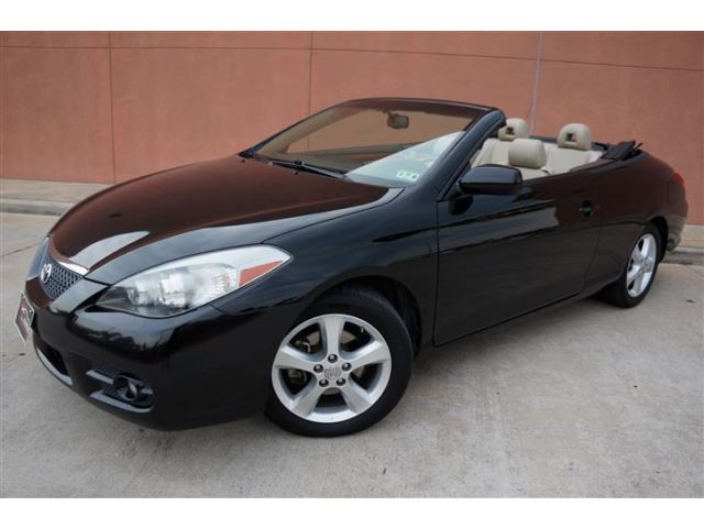 Toyota : Camry SLE WITH NAV 1 owner 2008 toyota solara convertible sle navigation heated seat alloy satelitte
