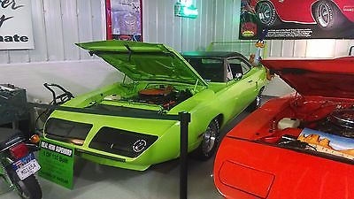 Plymouth : Road Runner SUPERBIRD HEMI SUPERBIRD, REAL DEAL 4SPD, #'S, BUILDHSHEET, ORIG FENDER TAG, AND BODY,